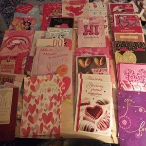 Hallmark Valentine's Day Card Lot